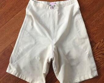 Vintage Girdle Shorts // vintage lingerie // retro lingerie