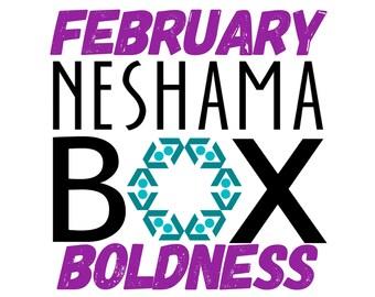 February Neshama Box - Boldness