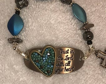 Trust in the Lord with all your heart ... Bracelet