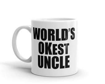 World's OKest Uncle Mug