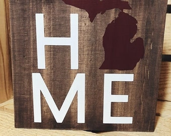 State Home Sign