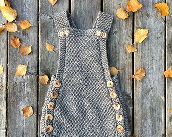 Kuzzy Design,Newborn Baby Photo,Hand Knit Romper,Knitted Romper,Girls romper,boys romper,newborn/3/6/9/12/18/24 month romper