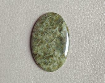 Beautiful Natural Vesuvianite Stone 102 Carat Round Shape Gemstone, Loose Healing Crystals Cabochon Gemstone, Pendants Vesuvianite Gemstone.