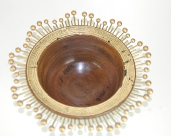 Hyedua Wood Turned Bowl