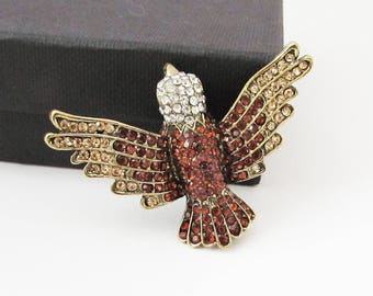American Eagle Brooch Pin, Eagle Brooch, Small Eagle Brooch Pin, Eagle Jewellery, Eagle Jewelry, American Eagle Gift
