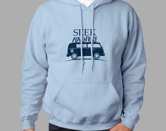 Seek Adventure hoodie #j