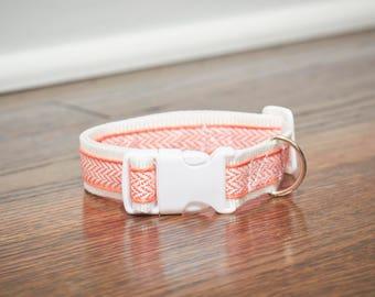 Small Chevron Dog Collar