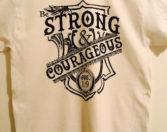 Strong Courageous