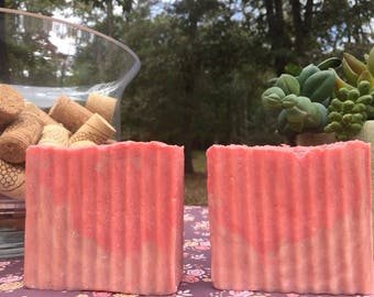 Sundrenched Vineyard scent Hot Process Soap