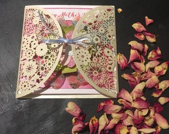 Handmade Seed Paper Greeting card (any occasion)