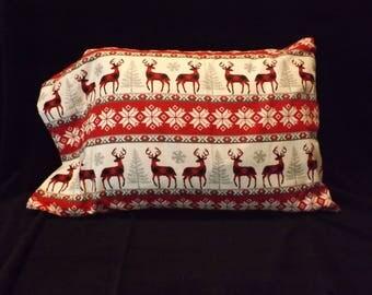 Flannel Pillowcase, standard size