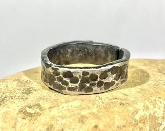 Forged steel ring, Viking ring