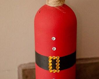 Santa Clause Bottle
