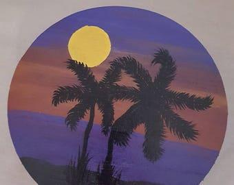 Purple Palms.