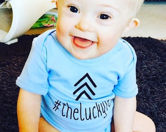 Bodysuit Vest Baby #theluckyfew  Down's Syndrome