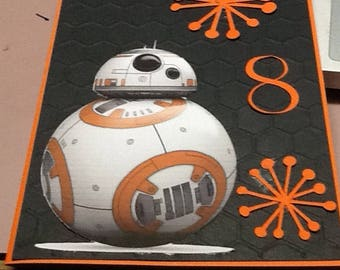 Star Wars card /Birthday /Kids