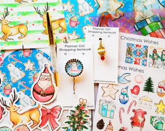 Christmas Wishes Memory Planning Kit