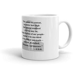 FDR Quote Mug
