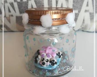 Sweet Bear jar decoration
