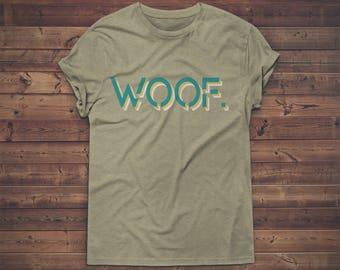 Trophy Gay Woof Modern Shirt
