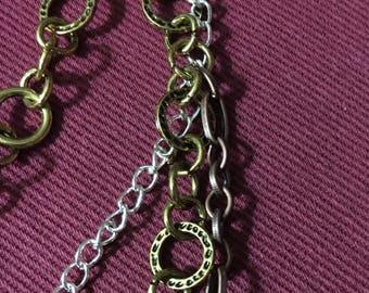 Funky Multi-Strand Necklace