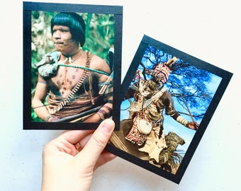 People Postcards - Set of Four