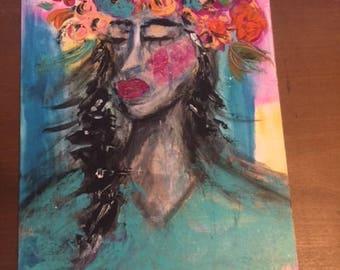 Despair original canvas