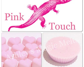 3 lacoste touch of pink perfume soy wax melts, designer dupe melts, strong wax melts, scented gifts, best wax, cheap wax melts