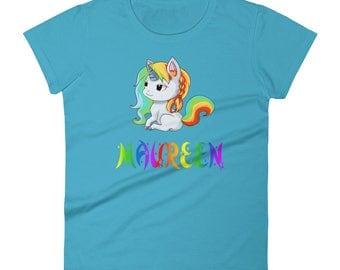 Maureen Unicorn Ladies T-Shirt