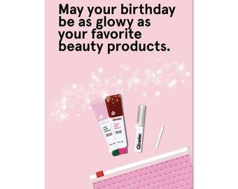 Glowy Birthday