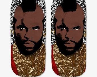 Mr T Kaus kaki Hosiery Meias Calcetiness Calzini Chaussette cute low ankle cut socks High Quality Material