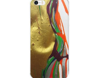 iPhone Case abstract theme by artist Kamila Dańko