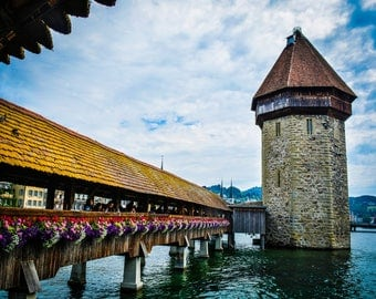 Lucerne, Switzerland Chapel Bridge