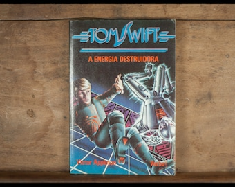 Tom Swift has energia destruidora Victor Appleton, Verbo, 1986, Portuguese, paperback