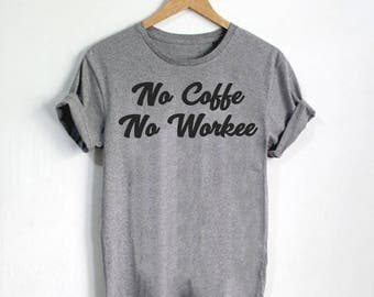 Funny Coffee Shirts, Funny Coffee Shirt, Coffee Tees, Cook Shirt, Food Clothes, Foodie Shirts, I Love Food, Foodie t-shirt - Style 4