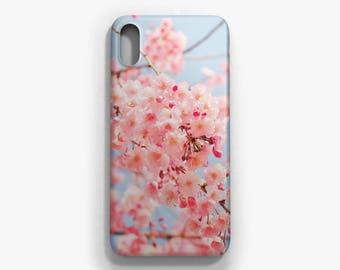 Sakura iPhone case, iPhone X, iPhone 8/8 Plus, iPhone 7/7 Plus, iPhone 6 6S, iPhone 6 Plus 6S Plus, Samsung Galaxy S8/S8 Plus case