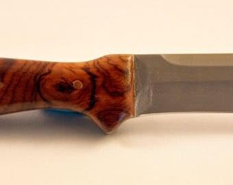 Bocote handle hunting knife