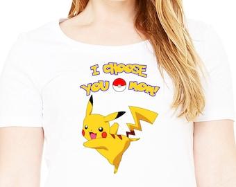 Pokemon , Iron On Transfer , Pokemon Mommy Of The Birthday Boy , DIY Pokemon Mommy Shirt Transfer , Instant Download , Digital Files