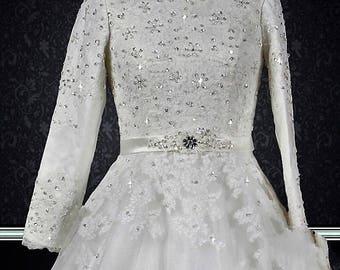Modest Muslim Wedding Dress