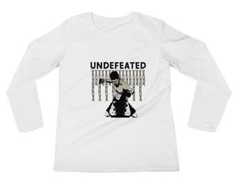 Jiujitsu Undefeated Ladies' Long Sleeve T-Shirt