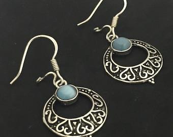 Moroccan Sterling Silver Earrings