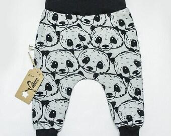 Panda Face Pants