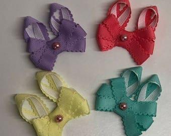 Tiny Adorable Bunny Bow