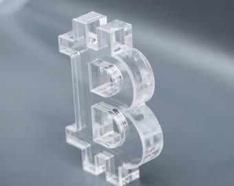 Bitcoin Acrylic