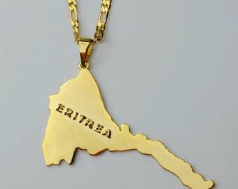 Golden Eritrea Necklace