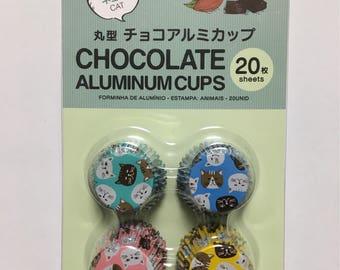 Chocolate Aluminum Cups