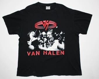 Van Halen For Unlawful Carnal Knowledge Concert Tour T-Shirt