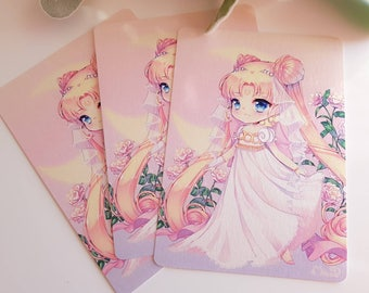 Sailor Moon Serenity A6 Print