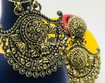 Gold Earrings, antique earrings, handmade earrings, gold drops earrings, earrings for women, handmade jewelry, vintage jewelry, earrings