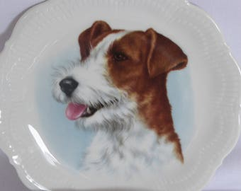 Plate terrier, vintage, with suspension